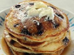 Trisha's Southern Kitchen Blueberry Pancakes