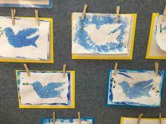 יונה כחול לבן Projects For Kids, Diy For Kids, Art Projects, Crafts For Kids, Arts And Crafts, Jewish Celebrations, Hebrew School, Jewish Art, Fireworks