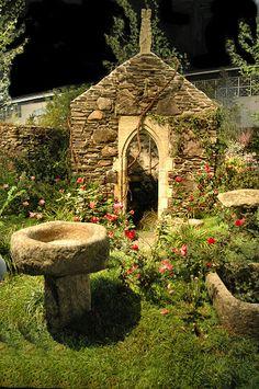 Philadelphia Garden Show - Celtic Gardens Garden Show, Dream Garden, Garden Art, Garden Design, Enchanted Garden, My Secret Garden, Garden Gates, Fairy Houses, Beautiful Gardens