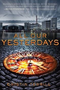 All Our Yesterdays by Cristin Terrill. This book was one so different from what I normally read, The travelling of time and development of characters were so vivid! And the way everything tied together was smooth and cohesive, but yet brought me to so many different places! A must read!