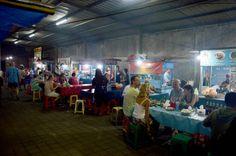Merriedians Sanur Night Market Sanur Serving Food