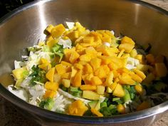 Couldn't Ask For More: Paleo Salad Week: Tropical Cabbage Salad
