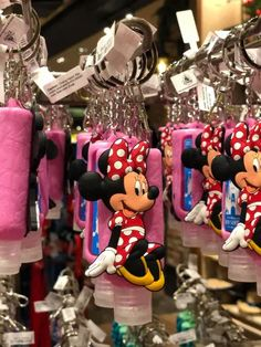 Stay Cute and Safe with These Disney Hand Sanitizer Keychains