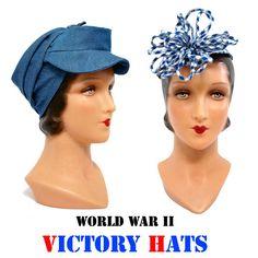 1940s Victory Hat Pattern - Wearing History Patterns
