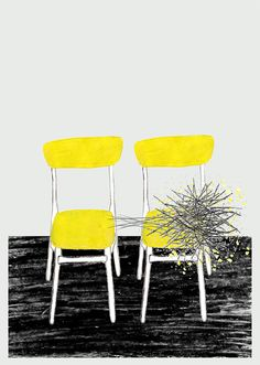 'Two Yellow Chairs' by Ana Frois