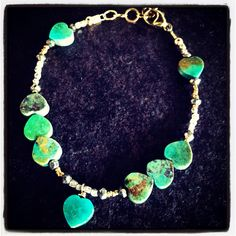Relics Turquoise Heart Bracelet
