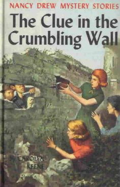 """Someone gave me this book as a kid. I tried to hide the fact that I read """"girls"""" books. Then came the tv show, followed by the girl who played Nancy Drew posing for Playboy (which I found in my dad's closet...)"""
