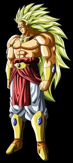 Legendary Super Saiyan 3 Broly