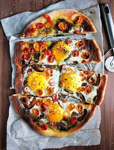 How about some wood fired pizza breakfast for champions!? Saw it on Pinterest, but this can be made at home with our wood fired bricked ovens!  https://www.breadstoneovens.com/pages/our-ovens... See More #Woodfired #brickovens #oven #fire #wood #brick #toppings #protein #eggs #local #ovencompany #artisanpizza #artisan