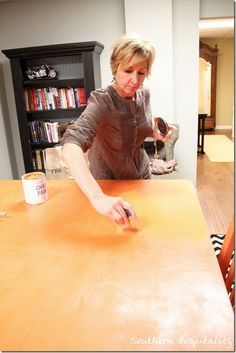 Annie Sloan Chalk Paint and Wax How-to's: Covers metals, wood, fabric....whatever!
