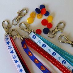 Kit pour fabriquer 6 porte clé / bijou de sac / gri-gri