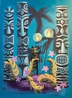 Perfect for the tiki room. Perfect for the tiki room. Tiki Art, Tiki Tiki, Vintage Tiki, Vintage Hawaii, Tiki Head, Tiki Bar Decor, Tiki Lounge, Hawaiian Tiki, Tiki Room