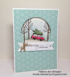 Lovely-Stamping, Stampin'Up! producten bestel je hier: Stampin'Up! - Merry Christmas