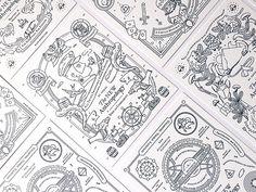 Letterpress Postcards for OTNA by Oddds