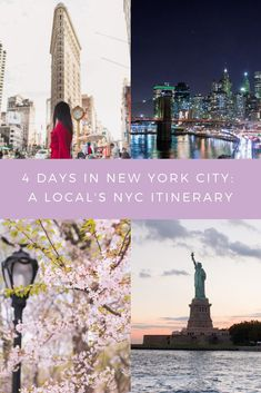 Visiting NYC for the first time? Check out this 4 day NYC itinerary written by a local Visiting NYC for the first time? Check out this 4 day NYC itinerary written by a local Usa Travel Guide, Travel Usa, Travel Tips, Travel Guides, Travel Destinations, Travel Checklist, Travel Advice, Time Travel, Nyc Itinerary
