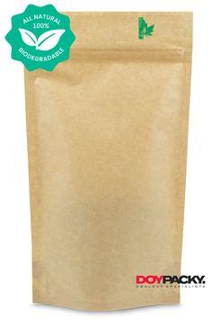 BIO Papírový doypack sáček se ZIP uzávěrem, který je 100% biologicky odbouratelný. Paper Shopping Bag, Mood, Zip, Products, Beauty Products