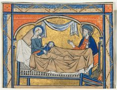 Miniature Excised from a Psalter: The Nativity   Cleveland Museum of Art, 1270