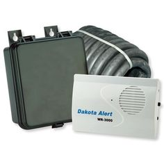 Wireless Rubber Hose Alert Kit- 600' Max Range by Dakota Alert. $141.20. Don't be caught unaware by unexpected visitors. The WRH-3000 Wireless Rubber Hose Alert is a very reliable and easy to install driveway alarm. The transmitter operates on a 9V battery and has 25' of 3/8'' diameter exterior hose that lies across the drive. When a vehicle drives over the hose, a signal is sent to the WR-3000 receiver up to 600' away. The transmitter is weatherproof and designed for ex...