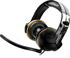 Thrustmaster - Tom Clancy's: Ghost Recon Wildlands Edition (Gaming-Headset, / / Xbox One / Xbox 360 / PC) Ghost Recon, Tom Clancy, Xbox 360, Spy, Headset, Toms, Headphones, Audio, Amazon