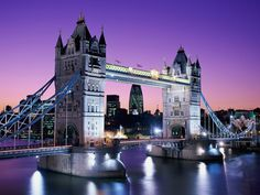 Tower Bridge at Night, London, England - http://imashon.com/w/tower-bridge-at-night-london-england.html