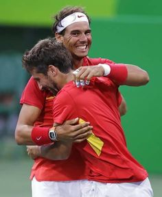 Nadal and Lopez.