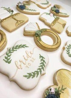 Cute bridal shower desserts sugar cookies 52 ideas – Famous Last Words Wedding Shower Cookies, Bridal Shower Desserts, Bridal Shower Cakes, Bridal Shower Party, Wedding Desserts, Bridal Shower Decorations, Burgundy Wedding Cake, Gold Wedding, Trendy Wedding
