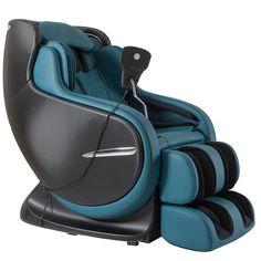 The Best 3D Kahuna Peacock Blue Massage Chair LM 8800