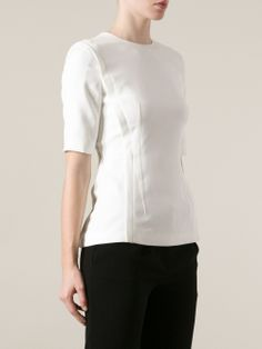 Alexander Wang pleated panel top