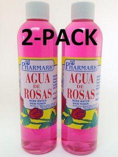 Agua De Rosas 8 Oz. Rose Water 2-PACK