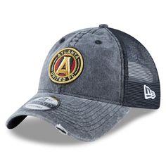low priced 3281a 906f8 Men s Atlanta United FC New Era Black Tonal Washed 2 Trucker 9TWENTY Adjustable  Hat, Your Price   23.99