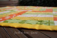 facile et beau - Gusta: Quilt-Tischdecke