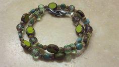 Bought my beads @ The Bead Bazaar  (www.bellinghambeadbazaar.com/) & made a double wrap bracelet~FuN! Beaded Bracelets, Diy Crafts, Beads, Fun, Jewelry, Beading, Jewlery, Jewerly, Pearl Bracelets