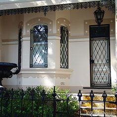 Window Grills In Wrought Iron