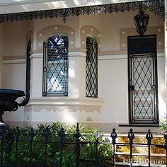 Elizabethan Window Grills In Wrought Iron | Iron Window Screens | Wrought  Iron Designs