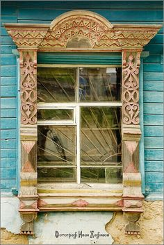Fancy window frame