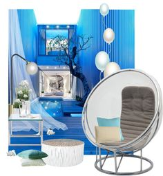 I think Ari Roma would love a room like this, she would probably add some purple glitter to it! -Nita Light