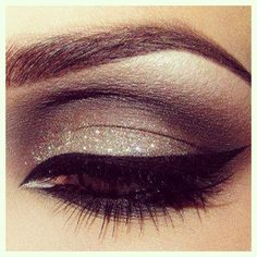 eye makeup #glitter