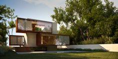 Przebudowa Kostki / PRL Cube House Redevelopment by S3NS Architektura - Igor Kazmierczak, via Behance