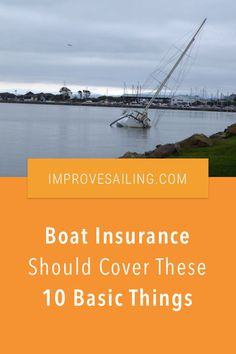 Boat Insurance Should Cover These 10 Basic Things - As a beginner sailor, what could you expect from good boat insurance? Read the article for all 10 things #sailboat #insurance #tips Liveaboard Sailboat, Liveaboard Boats, Expensive Yachts, Sailboat Living, Insurance Marketing, Buy A Boat, Boat Insurance, Best Boats, Small Boats