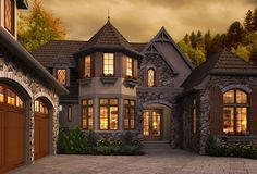Rivendell Plan 4912 - 3 Bedrooms and 3.5 Baths | The House Designers