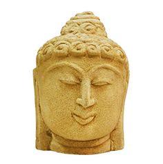 VintFlea Lord Buddha Statue Religious Home Decor Beige Sculpture Sandstone Art Handmade Figurine India Gift VintFlea http://www.amazon.com/dp/B0114C9LX4/ref=cm_sw_r_pi_dp_XroFwb0PJ11SX