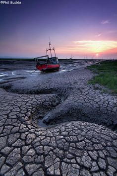 Heswall Sunset by Phil Buckle, wonderful textures