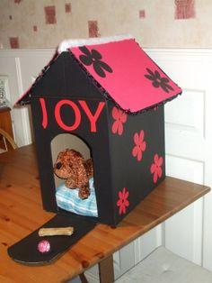 Best ideas for a Sinterklaas surprise craft - Mama Weetjes - B . Valentine Boxes For School, Valentines For Kids, Diy Valentine, Diy For Kids, Crafts For Kids, Puppy Valentines, Homemade Christmas Crafts, Cardboard Art, Santa Gifts