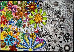 Draw Doodle and Decorate: Balancing Botanicals