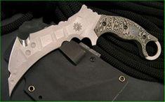 "Derespina Knives - Model 4XL ""Cock Diesel"""