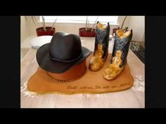 Cowboy Hat Fondant Cake with how to towards the end