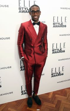 Tinie Tempah attends the ELLE Style Awards