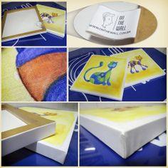 Produzimos seu quadro com qualidade e atenção aos mínimos detalhes. Quadro em canvas. http://www.onthewall.com.br/infantil/gato-colorido http://www.onthewall.com.br/infantil/gato-colorido-1