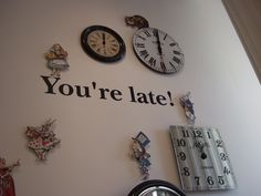 Alice In Wonderland Bedroom, Alice In Wonderland Tea Party, Tim Burton, Wonderland London, Disney Bedrooms, Disney Home, Kitchen Themes, Hallway Decorating, Room Themes