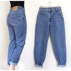 Take a look at the best what to wear with vintage high waisted jeans in the photos below and get ideas for your outfits! Vintage High Waist Stone Washed Levi's 512 Jeans – Medium Blue… CAD) ❤… Continue Reading → High Rise Boyfriend Jeans, High Jeans, High Waist Jeans, Boyfriend Pants, Vintage High Waisted Jeans, High Waist Pants Outfit Jeans, Vintage Levi Jeans, Trousers High Waisted, Boyfriend Jeans Outfit Summer